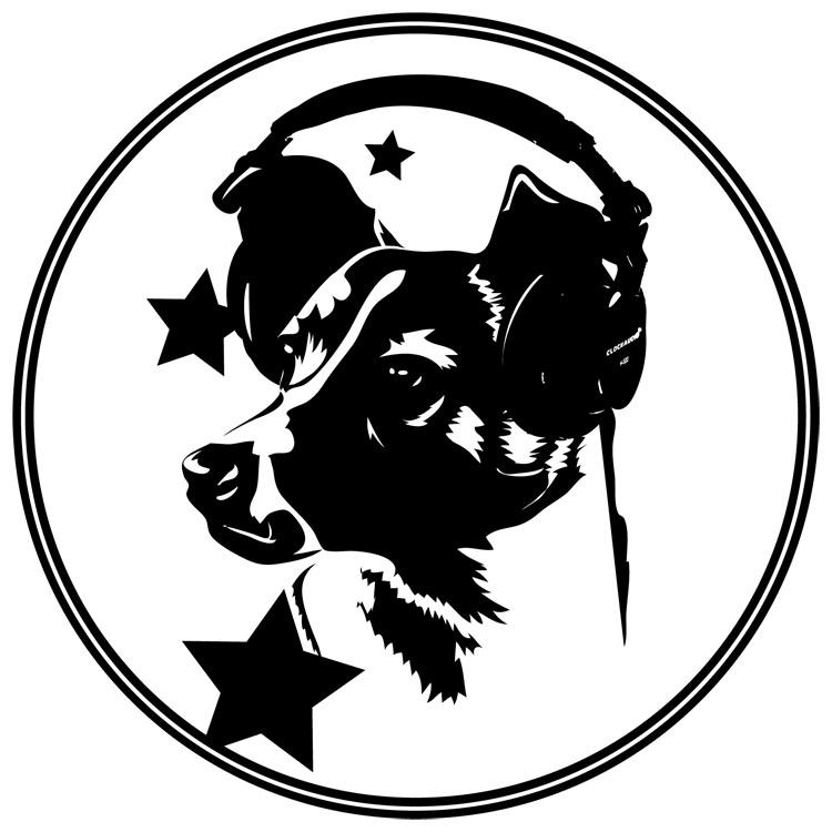Laika we love you logo design for We love design